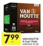 Van Houtte K-cup Pods Selected 12 Pk