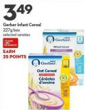 Gerber Infant Cereal 227g Box