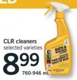 Clr Cleaners - 760-946 mL
