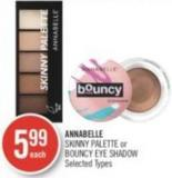 Annabelle Skinny Palette or Bouncy Eye Shadow