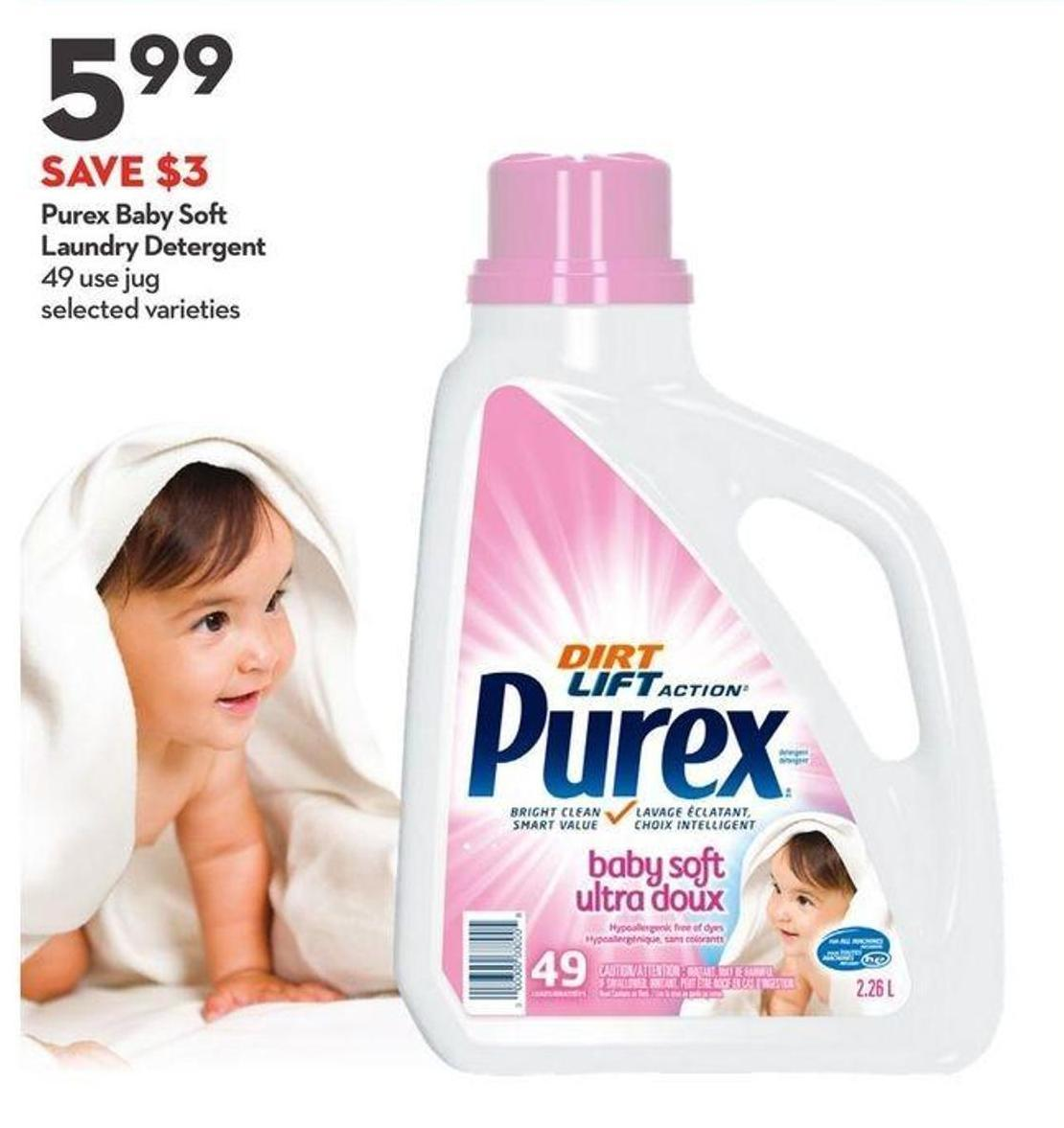 Purex Baby So Laundry Detergent