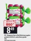 PC Organcis Fuji Or Red Delicious Apples - 3 Lb