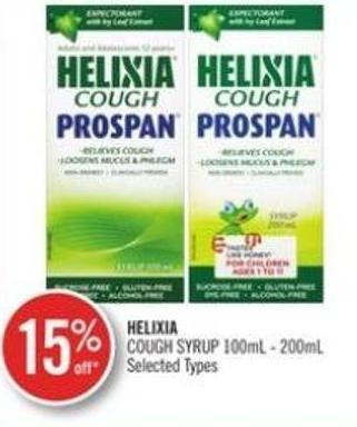Helixia Cough Syrup