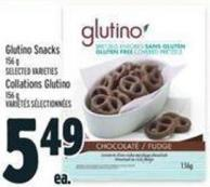 Glutino Snacks
