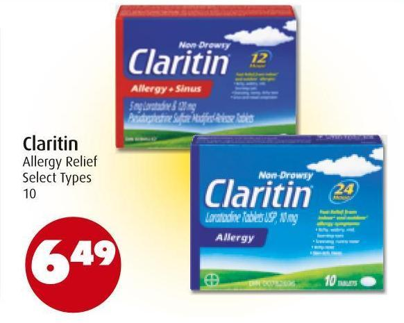Claritin Allergy Relief