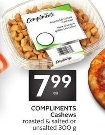 Compliments Cashews