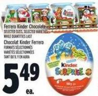 Ferrero Kinder Chocolate