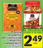 Divya Assorted Dry Lentils Or Roasted Channa Nuts