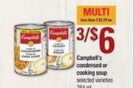 Campbell's Condensed Or Cooking Soup - 284 mL