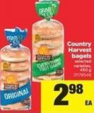 Country Harvest Bagels - 450 g