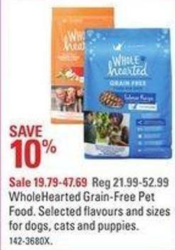 Wholehearted Grain-free Pet Food