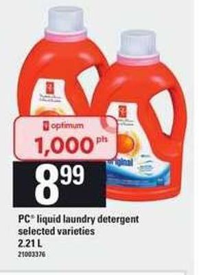 PC Liquid Laundry Detergent - 2.21 L