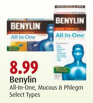 Benylin All-in-one - Mucous & Phlegm