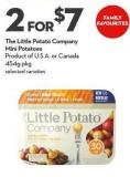 The Little Potato Company Mini Potatoes  Product of U.S.A. or Canada 454g Pkg