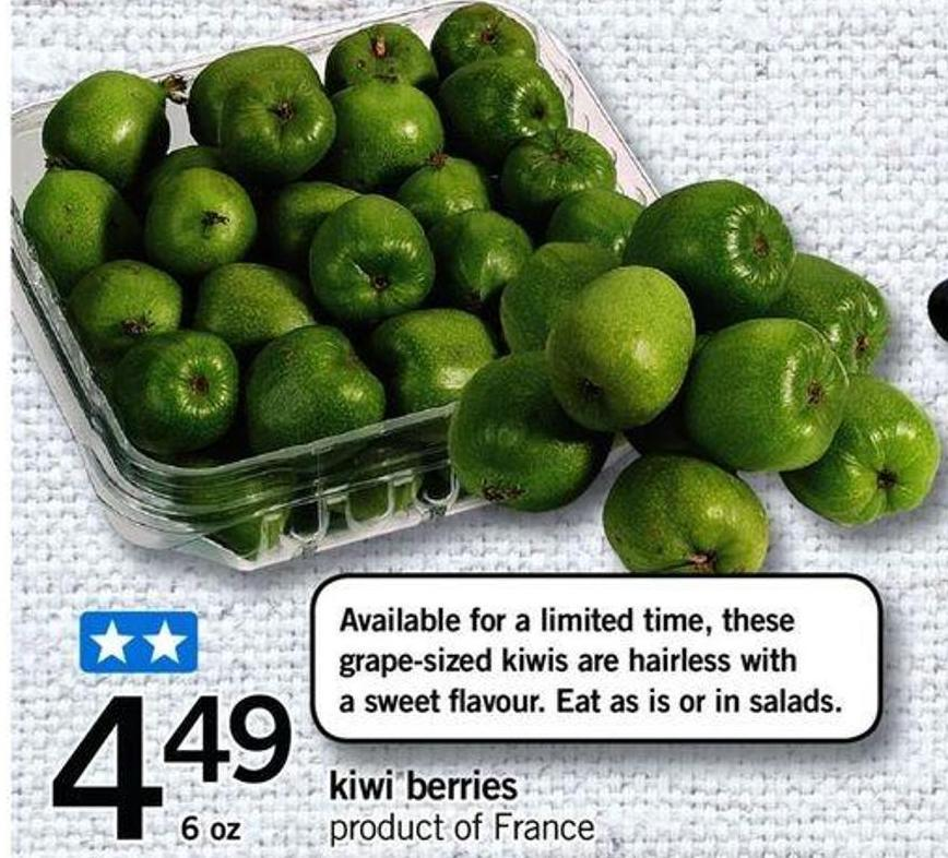 Kiwi Berries - 6 Oz