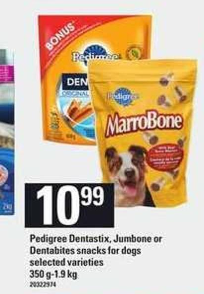 Pedigree Dentastix - Jumbone Or Dentabites Snacks For Dogs - 350 G-1.9 Kg