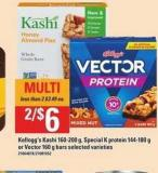 Kellogg's Kashi - 160-200 g - Special K Protein - 144-180 g - Or Vector - 160 g Bars