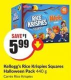 Kellogg's Rice Krispies Squares Halloween Pack 440 g