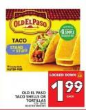 Old El Paso Taco Shells Or Tortillas