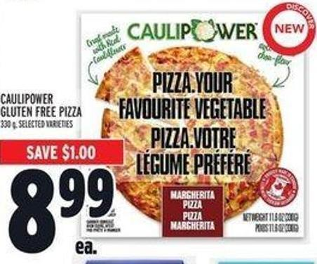 Caulipower Gluten Free Pizza