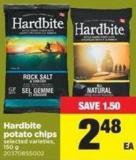 Hardbite Potato Chips - 150 g