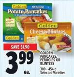 Golden Pancakes - Perogies Or Blintzes