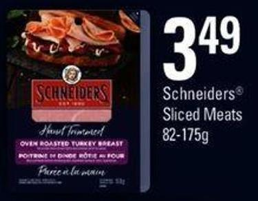 Schneiders Sliced Meats - 82-175 G