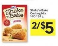Kraft Shake'n Bake Coating Mix 140-184 g