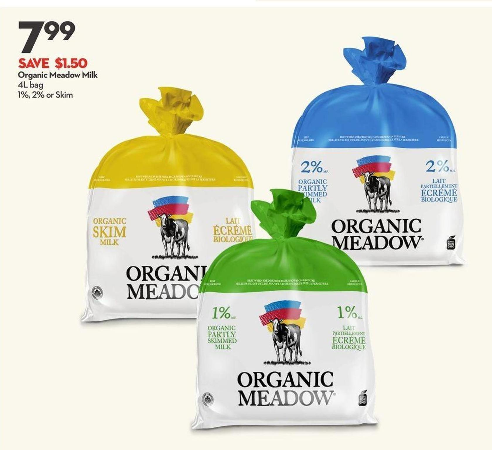 Organic Meadow Milk