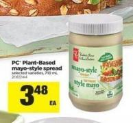 PC Plant-based Mayo-style Spread - 710 Ml