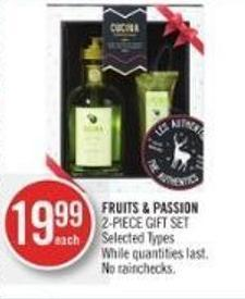 Fruits & Passion 2-piece Gift Set