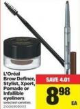 L'oréal Brow Definer - Stylist - Xpert - Pomade Or Infallible Eyeliners