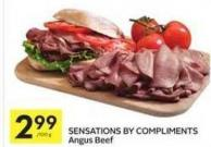 Sensations By Compliments Angus Beef