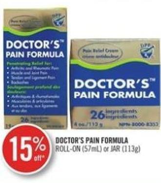 Doctor's Pain Formula