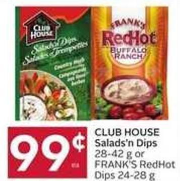 Club House Salads'n Dips