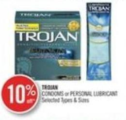 Trojan Condoms or Personal Lubricant