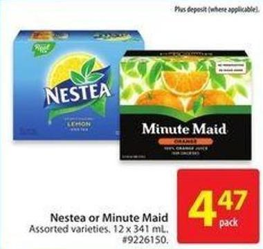 Nestea or Minute Maid
