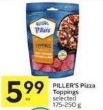 Piller's Pizza Toppings Selected 175-250 g
