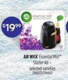 Air Wick Essential Mist Starter Kit
