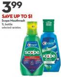Scope Mouthwash 1l Bottle