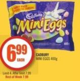 Cadbury Mini Eggs 400g