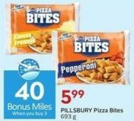 Pillsbury Pizza Bites 693 g - 40 Air Miles Bonus Miles