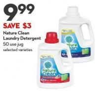 Nature Clean  Laundry Detergent 50 Use Jug