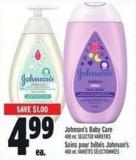 Johnson's Baby Care 400 ml