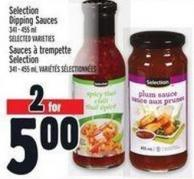 Selection Dipping Sauces 341 - 455 ml