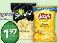 Smartfood Or Lay's Potato Chips