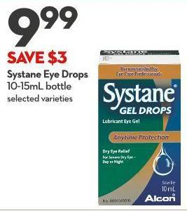 Systane Eye Drops 10-15ml Bottle