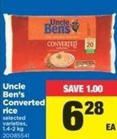 Uncle Ben's Converted Rice - 1.4-2 Kg