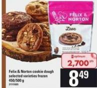 Felix & Norton Cookie Dough - 450-500 g