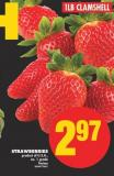 Strawberries - 1lb Clamshell